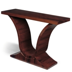 Art Deco-inspired console table