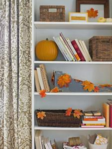 Foliage brought indoors- design by Layla Palmer