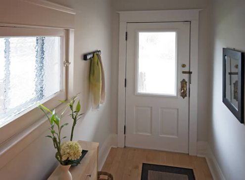 Foyer After Installation of Window by SET For Design