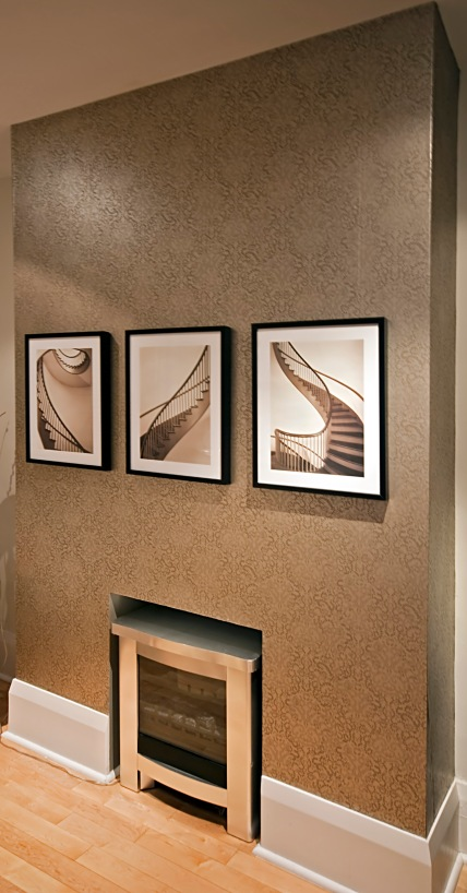 Fireplace Wall by SET For Design