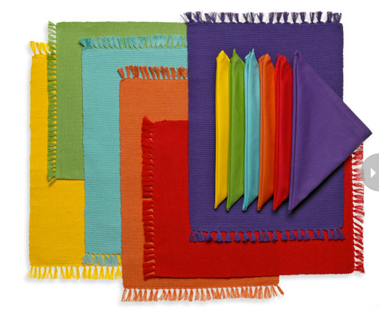 Bright Placemats by Style at Home